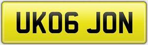 NO-HIDDEN-FEES-JON-PRIVATE-REG-NUMBER-PLATE-Johny-John-Jhn-Jny-Jonathan-Jonathon