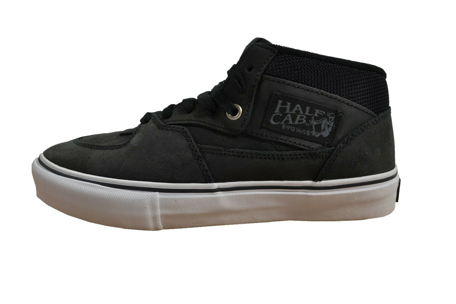 Vans HALF CAB PRO Noir Blanc Discounted (312) Skateboarding Homme Chaussures