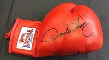 OSCAR DE LA HOYA Signed Boxing Glove Signed Golden Boy RARE AFTAL COA (B)
