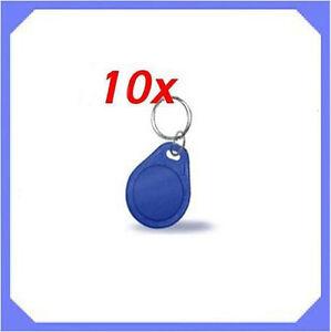 10-pcs-125Khz-RFID-Proximity-ID-Token-Tag-Key-Keyfobs