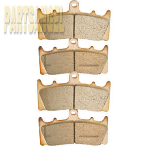 Front Sintered Brake Pads For Suzuki GSX-R 1000 GSX-R1000 GSXR1000 2001 2002