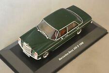 SOLIDO 400600 - Mercedes Benz 200 D 1968 vert  1/43