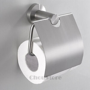 Brushed-Stainless-Steel-304-Toilet-Paper-Roll-Holder-with-Cover-C28