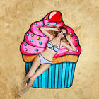 CUPCAKE BigMouth Affordable High Quality 5ft Ultra Soft Gigantic Beach Blanket