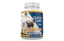 30 Quick Caps flea control 12mg Cats & Dogs 2-25 lbs Compare to CapGuard®