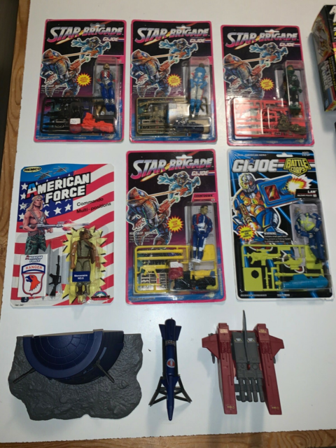 Action Force GI Joe, Action Force mocs og lidt løst…