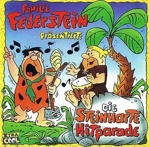 FAMILIE-FEUERSTEIN-034-Die-steinharte-Hitparade-034-BMG-Ariola-1997-CD-OVP-amp-NEU