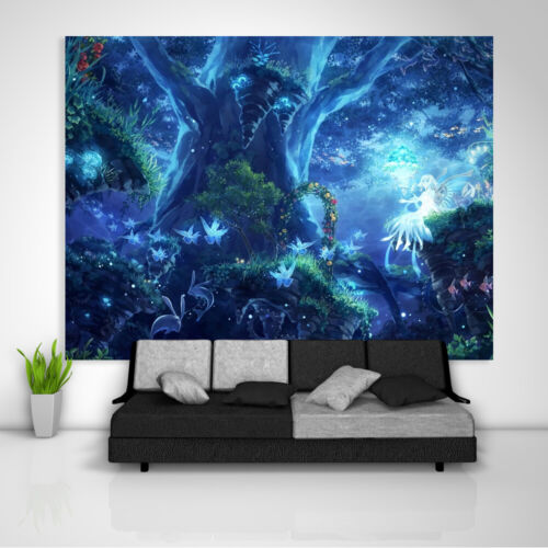 Fairyland Fantasy Tapestry Art Wall Hanging Sofa Table Bed Cover Poster