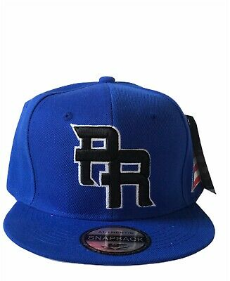 PUERTO RICO WBC 3-D EMBROIDERED PR FLAG ON SIDE SNAPBACK baseball HAT Royal
