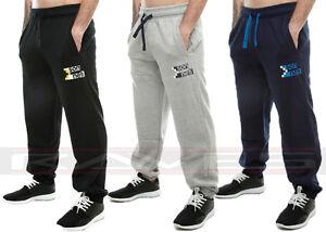 Mens-Sonneti-Logo-Hackney-Sweat-Pants-Joggers-Tracksuit-Jogging-Bottoms-Trouser
