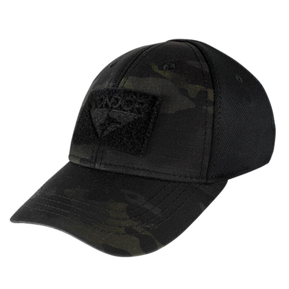 2069d025564 Flex Tactical Cap Baseball Hat W  Velcro Panel for Patch Condor ...