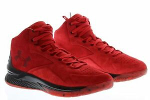 dee45cf391e1 NEW - UNDER ARMOUR MEN S 1296617-600 RED CURRY 1 LUX MID SC ...