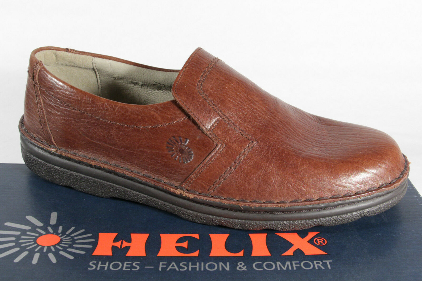 Helix Men's Slippers, Low shoes Brown, New
