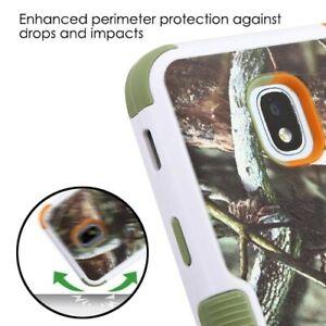 Samsung-Galaxy-J3-2018-Hybride-Antichoc-Caoutchouc-Dur-Case-Housse-de-protection-Camo