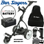 18-HOLE-LITHIUM-BEN-SAYERS-ELEKTRISCH-TROLLEY-amp-FREE-ACCESSORIES-WORTH-OVER thumbnail 1