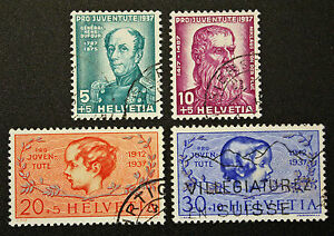 Stamp-Switzerland-Yvert-and-Tellier-N-303-IN-306-C-Obl-Cyn16