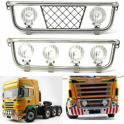 Metal LED Headlight for 1//14 DIY TAMIYA Scania Tractor Truck Model RC Car Part