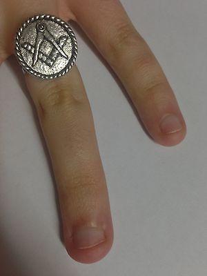 Adjustable Handmade in Sheffield Ganesh R205 English Pewter Ladies Ring