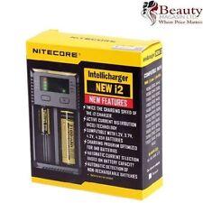 UK Nitecore I2 - 2017 Model - Intelligent 18650 26650 18350 Vape Battery Charger