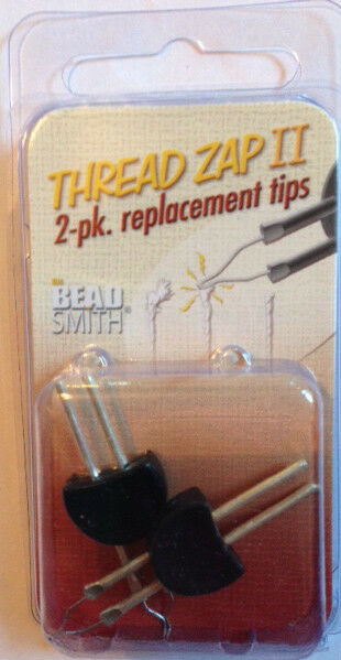 THE BEADSMITH THREAD ZAP II REPLACEMENT TIPS - thread burner
