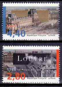 1993-FRANCE-TIMBRE-Y-amp-T-N-2851-et-2852-Neuf-SANS-CHARNIERE