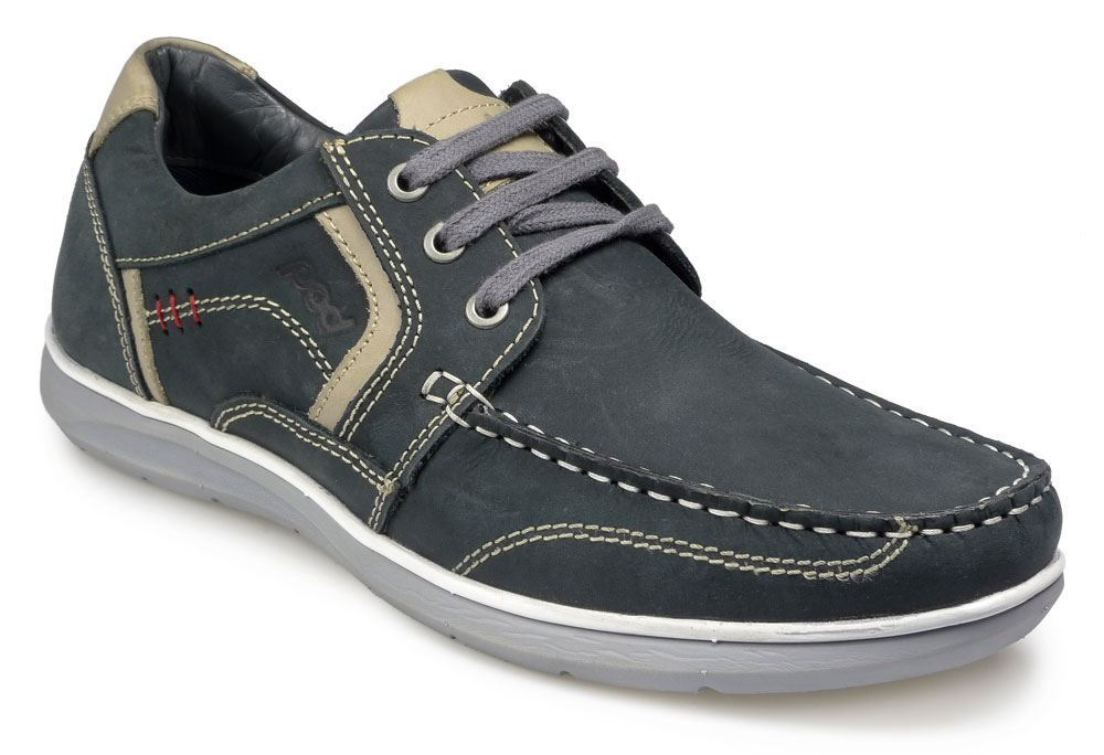 Pod Mens Casual lace up shoe - Hawk 2 Navy in size UK6 to UK15