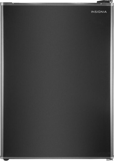 Insignia- 2.6 Cu. Ft. Mini Fridge - Black