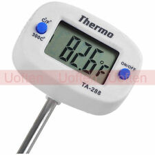 Digital Kitchen Cooking Thermometer Food Candy Oil Grill Oven Meat BBQ Meet US