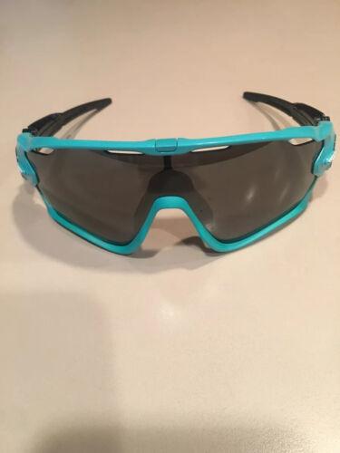 Oakley Jawbreaker Sunglasses Turquoise Green Prizm