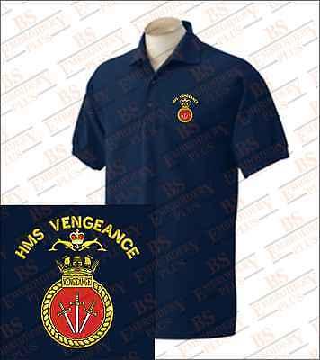 HMS Albion Polo Shirt Embroidered Logo
