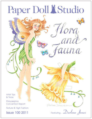 Paper Doll Studio Magazine Issue #100 FLORA AND FAUNA from 2011