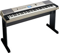 Yamaha Ypg-535 Semi Weighted 88-key Portable Grand Piano Keyboard W/ Stand,
