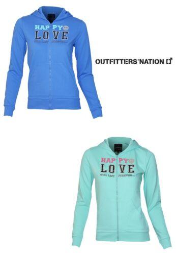 Outfitters Nation Charme f ls Damen SweatDesign Kapuze Langarm Freizeit Pulli