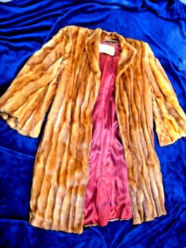 état en bon Manteau de en rouge Vintage Company renard fourrure très May CC4Pwq