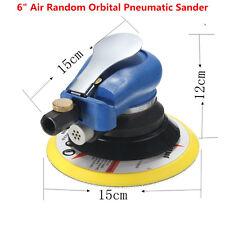 6'' Air Random Orbital Pneumatic Disc Sander Polisher Auto Body Orbit DA Sanding