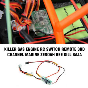 Killer-Gas-Engine-RC-Switch-Remote-3rd-Channel-Marine-Zenoah-Bee-Kill-Baja-63035