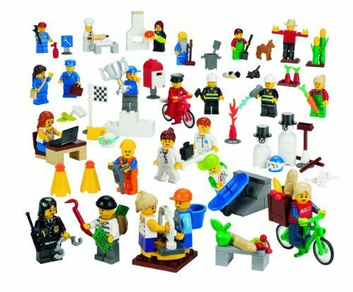 NEW LEGO Education Community Minifigures Set 779348 256 Pieces FREE SHIPPING