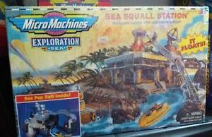MICROMACHINES MICRO MACHINES EXPLORATION SEA SQUALL STATION...NUOVO!! - Italia - MICROMACHINES MICRO MACHINES EXPLORATION SEA SQUALL STATION...NUOVO!! - Italia