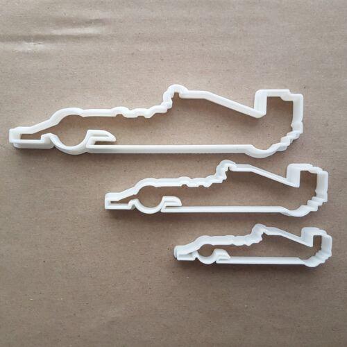 Formula One race car F1 Forme Cookie Cutter Pâte Biscuit Pâtisserie Fondant Sharp