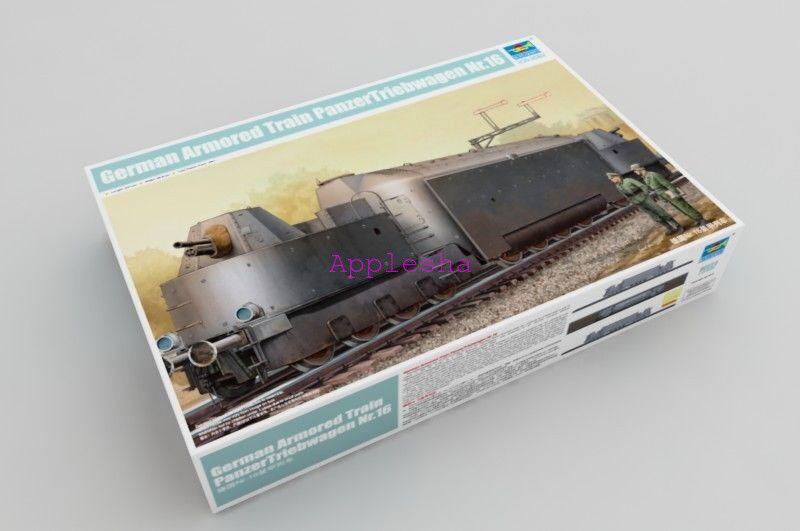 Trumpeter 00223 1 35 German Armored Train PanzerTriebwagen Nr.16