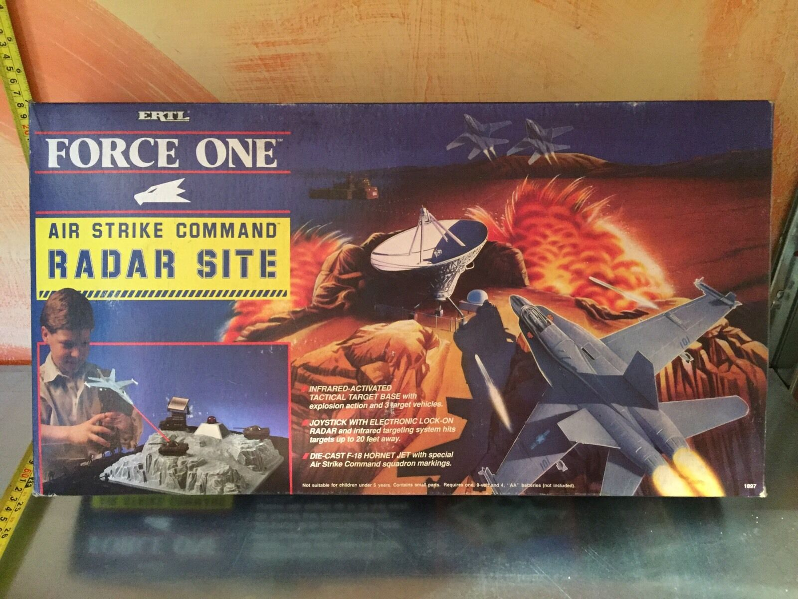 ERTL FORCE ONE RADAR SITE VINTAGE DEAD STOCK PERFECT