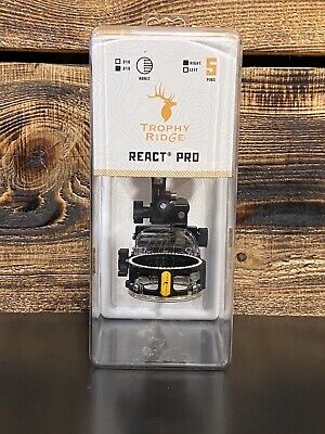 """Trophy Ridge React Pro vue 5 broches .019 /""""Noir Main Droite"""