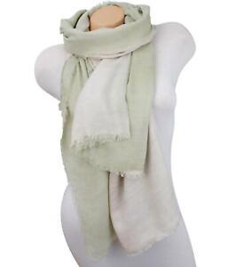Damen Schal Tuch Stola Rundschal Scarf Pullover Loop Stern grün SP-600011400//LH