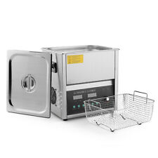 Commercial Ultrasonic Jewelry Cleaner Machine 10 Liter Sweep Amp Degassing