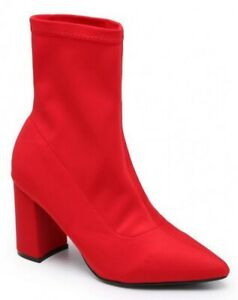 6c038bc8fa1 Image is loading WOMENS-LADIES-HIGH-STILETTO-HEEL-POINTED-TOE-STRETCH-