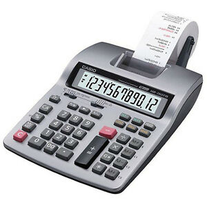 Printing Calculator Casio HR-150TM PLUS Desktop Business 2 Color U