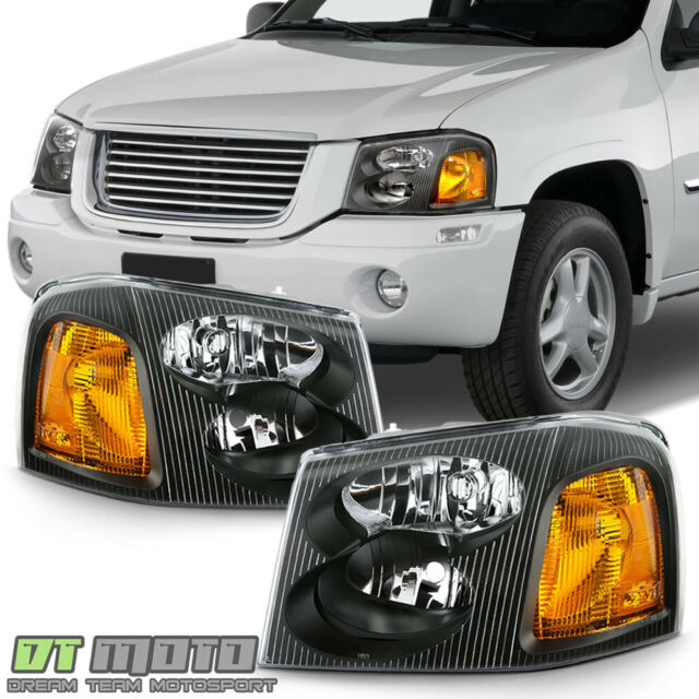 02 05 Dodge Ram Headlights Set Aftermarket Left Right Lights 2002