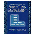 Introduction to Supply Chain Management by Robert B. Handfield, Ernest L. Nichols (Paperback, 1998)