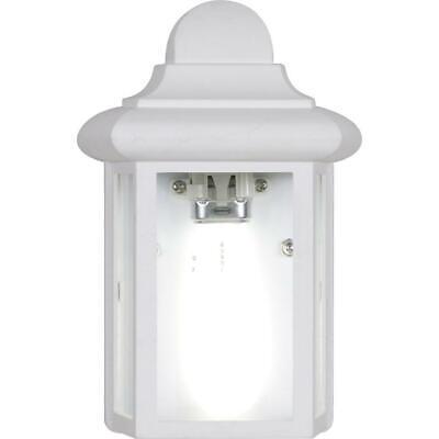 Volume Lighting 1 Light White Exterior Wall Mount Sconce 748066667309 Ebay