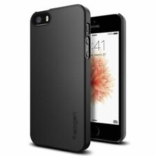 Apple iPhone SE 5s 5 Case Spigen Thin Fit Black Adds No BULK